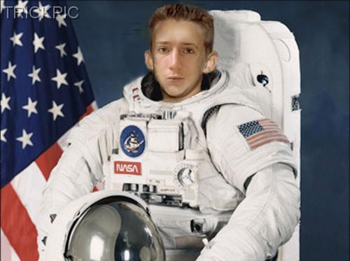 Arne Tarara landet auf dem Mond